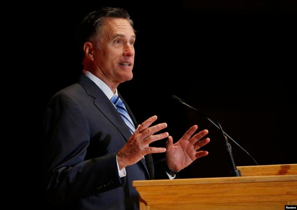 Mitt romney speech analyse