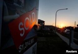 Nhà đất rao bán ở Sydney.