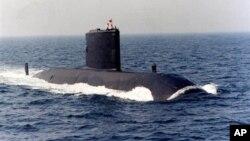 Подводная лодка HMCS Chicoutimi ВМС Канады (архивное фото)