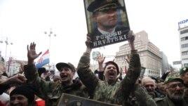 Oslobađanje Gotovine i Markača burno je proslavljeno u Zagrebu