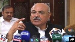 صوبائی وزیراطلاعات میاں افتخار حسین