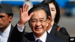 中國總理溫家寶。