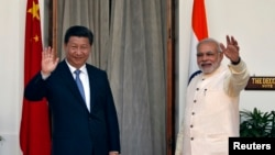 چین و هند دو رقیب بزرگ در منطقه استند