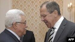 Махмуд Аббас и Сергей Лавров во время встречи в Москве 23 марта 2011г.