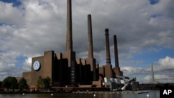 Power plant of the Volkswagen factory in the city Wolfsburg, Germany, the hometown of Volkswagen, Sept. 29, 2015.