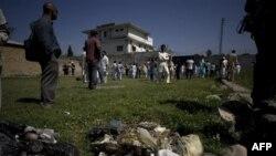 Место убийства бин Ладена