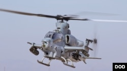 Helicopter ah-1z
