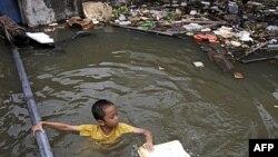 Lụt trong thủ đô Bangkok, Thái Lan