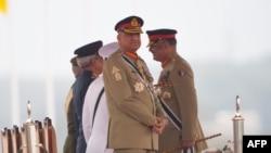 نواز شریف نے جنرل قمر جاوید باجوہ پر انتخابات میں دھاندلی کے الزامات عائد کیے تھے۔
