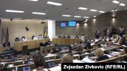 Broj delegata izabranih u kantonalne skupštine je 289, dok će njih 58 biti izabrano u Dom naroda