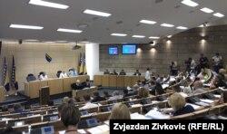 Arhiv -Sjednica Doma naroda Parlamenta FBiH