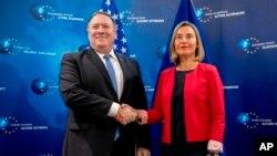 وزیر خارجه آمریکا پیشتر از اروپا خواسته بود اقدامات جمهوری اسلامی ایران را محکوم کند.