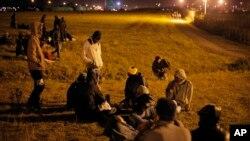Мигранты во французском Кале
