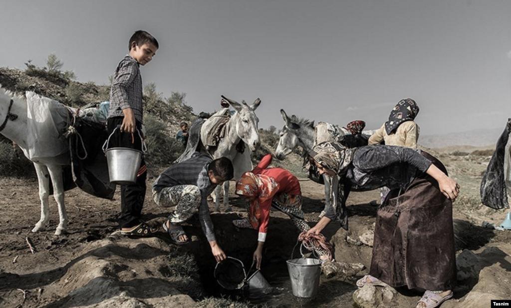 بحران کم آبی در خراسان شمالی عکس: عرفان کوچاری