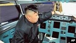 조선중앙TV가 5일 공개한 김정은 제1위원장의 현지지도 모습.