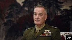 美国参谋长联席会议主席邓福德将军