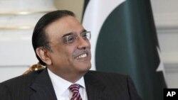 巴基斯坦總統扎爾達里(資料照片)
