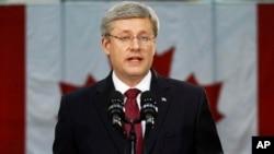 加拿大總理哈珀。