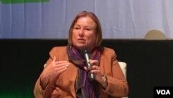 Amanda Bennett govori na međunarodnoj konferenciji Media Meets Literacy, Sarajevo, 21. septembar 2017.