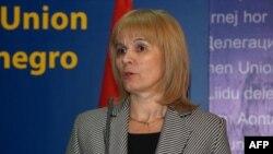 Ministarka za evropske integracije na konferenciji za novinare u Podgorici