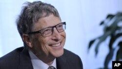 Bill Gates kembali menduduki peringkat pertama daftar orang terkaya di dunia menurut majalah Forbes 2 Maret 2015 (foto: dok).