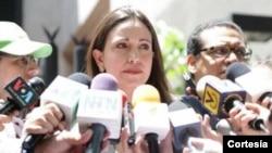 Machado acudió esta semana a declarar al ministerio público. (Foto: Prensa MCM).