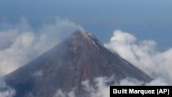 Gunung berapi di Filipina. (Foto: Ilustrasi)