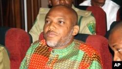 Shugaban kungiyar tawayen Biyafara (IPOB) Nnamdi Kanu