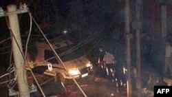 2009年5月8日当局包围许坤家准备实施抓捕