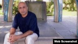 Undated photo of Iranian blogger Sattar Beheshti posted on the Iranian opposition website Kaleme.com.