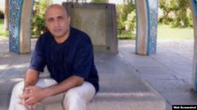 Undated photo of Iranian blogger Sattar Beheshti posted on the Iranian opposition website Kaleme.com.