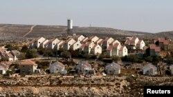 요르단강 서안 슈벗에 유대인 정착촌.