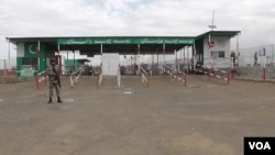 지난 19일 아프가니스탄과 파키스탄 접경 지역의 국경통과소.