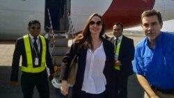 Angelina Jolie ဘဂၤလားေဒ႐ွ္႕ခရီးစဥ္ အဆံုးသတ္