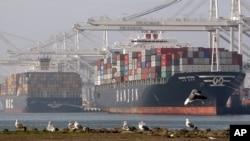 Cảng Oakland, California. (AP Photo/Ben Margot)