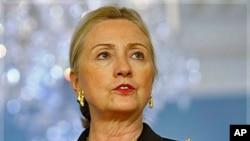 Državna tajnica Hillary Rodham Clinton u State Departmentu 25. listopada