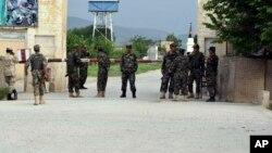 صوبہ بلخ میں افغان نیشنل آرمی کا اڈہ