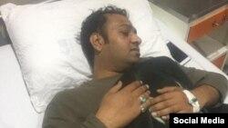 سیکیورٹی گارڈ کے تشدد سے زخمی ہونے والا کیمرہ مین واجد علی سید
