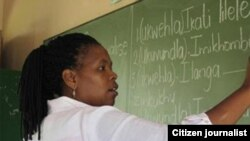 Zimbabwean Teacher