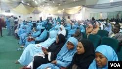 Wasu mahalarta taron ranar Hijab ta Duniya a Abuja