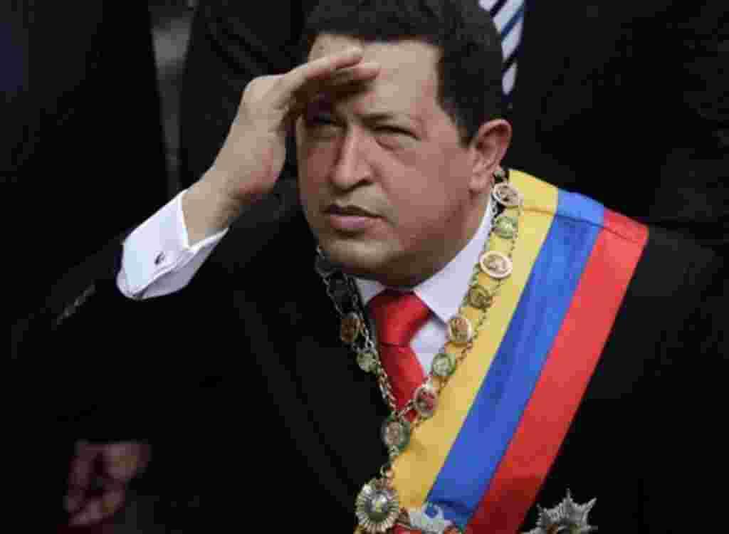 Hugo Chavez, presidente de Venezuela.