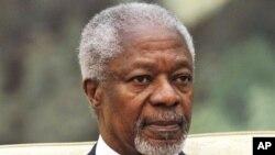 Utusan PBB dan Liga Arab untuk perdamaian Suriah, Kofi Annan (foto: dok).