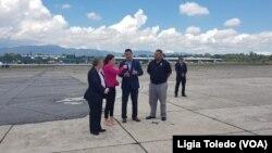 En total, el ICE trajo a 130 ciudadanos estadounidenses en dos vuelos procedentes de Honduras, y a 127 procedentes de El Salvador. Los restantes, habían sido traídos antes del 27 de marzo. Foto de archivo del 20 de agosto de 2019.