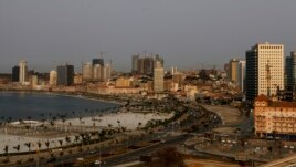 A general view of the Angolan capital Luanda on September 2, 2012.