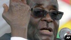 Robert Mugabe a déjà évoqué la tenue d'élections cette année au Zimbabwe