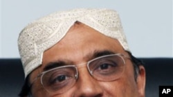 Pakistan's President Asif Ali Zardari (file photo)