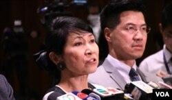 香港本土立法会议员毛孟静。