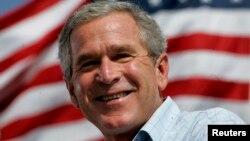 Mantan Presiden Amerika Serikat George W. Bush.