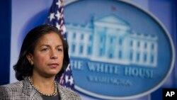سوزان رایس مشاور امنیت ملی کاخ سفید