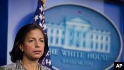 美國國家安全事務顧問蘇珊賴斯
